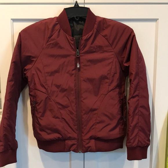 4e7874858 NEW Girls Rydell bomber North Face light jacket NWT